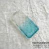 เคส iPhone5/5s/SE เพชรข้าง TPU สีฟ้า