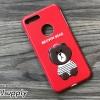 เคส iPhone 7 หมีบราวน์ สีแดง BKK