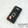 เคส Samsung J2 ตารางมุก สีดำ