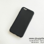 เคส iPhone6/6s นิ่ม สีดำ