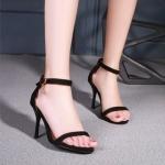 พร้อมส่ง รองเท้าสีดำ ไซส์ 34 รหัส PP-55-3435