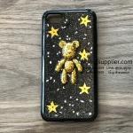 เคส iPhone 7 หมีอวกาศสีทอง เคสดำ BKK