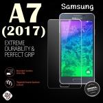 ฟิล์มกระจก Samsung A7(2017) เต็มจอสีใส