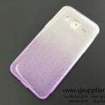 เคส Samsung J2 กากเพชรไล่สี สีม่วง