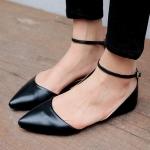 Preorder รองเท้าแฟชั่น สไตล์ เกาหลี 34-43 รหัส 9DA-4602