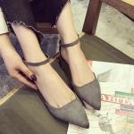 Preorder รองเท้าแฟชั่น สไตล์เกาหลี 35-41 รหัส GB-7436
