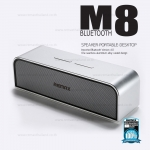 ลำโพง Bluetooth Remax RB - M8 สีเงิน