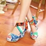 Preorder รองเท้าแฟชั่น สไตล์ เกาหลี 34-43 รหัส 55-8008
