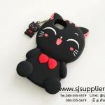 เคส iPhone7 แมว สีดำ เต็มตัว