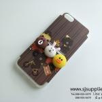 เคส iPhone 6/6s Plus หมีนูน สีน้ำตาล BKK