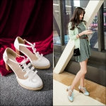 Preorder รองเท้าแฟชั่น สไตล์ เกาหลี 32-43 รหัส 9DA-5620