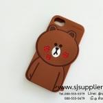 เคส iPhone7 หมีบราวน์ปากจุ๊บ