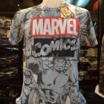 โลโก้มาร์เวล คอมมิค สีขาว (Marvel comic logo white)