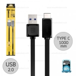 สายชาร์จ TYPE-C (USB2.0) Remax สีดำ