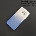 เคส Samsung S7 Edge กากเพชรไล่สี 2 ชั้น สีฟ้า