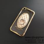 เคส iPhone 7 แหวนเพชรตั้งได้ สีทอง