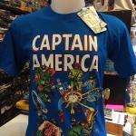 กัปตันอเมริกา สีน้ำเงิน (Captain blue)
