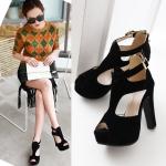 Preorder รองเท้าแฟชั่น สไตล์เกาหลี 32-43 รหัส 9DA-0384