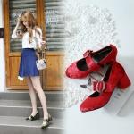 Preorder รองเท้าแฟชั่น สไตล์ เกาหลี 32-46 รหัส 9DA-6702