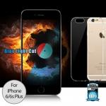 ฟิล์มกระจก iPhone6/6s Plus Remax Film + Case Full 3D (Excellence) สีดำ