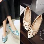 Preorder รองเท้าแฟชั่น สไตล์ เกาหลี 32-43 รหัส 9DA-5725