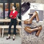 Preorder รองเท้าแฟชั่น สไตล์ เกาหลี 32-42 รหัส 9DA-9048