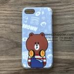 เคส iPhone 7 เจ้าหมีบราวน์ สีฟ้า BKK