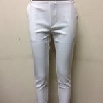 กางเกงขา 5 ส่วน ผ้าดับเบิ้ล สีขาว