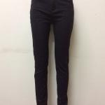 กางเกงยีนส์ฮ่องกงทรงเดฟ สีดำ Code#A976