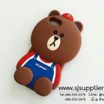 เคส iPhone7 หมีบราวน์ เอี้ยม