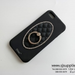 เคส Samsung J2 แหวนเพชร ตั้งได้ สีดำ BKK
