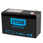 "Battery 7Ah 12V ""ETECH"""