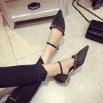 Preorder รองเท้าแฟชั่น สไตล์เกาหลี 35-39 รหัส GB-2102
