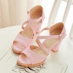 Preorder รองเท้าแฟชั่น สไตล์ เกาหลี 31-43 รหัส 9DA-2864