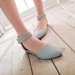 Preorder รองเท้าส้นเตี้ย 34-43 รหัส 9DA-0554