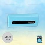 พาวเวอร์แบงค์ Remax 5000mAh E5 สีฟ้า