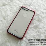 เคส iPhone7 Plus Slim Armor หลังใส สีแดง