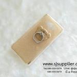เคส Samsung J2 แหวนกากเพชร สีทอง