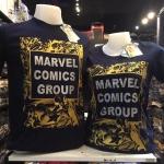 โลโกมาร์เวล สีกรม (Marvel comic gold)