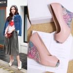 Preorder รองเท้าแฟชั่น สไตล์ เกาหลี 34-43 รหัส 9DA-4811