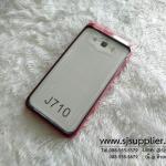 เคส Samsung J7 (2016) Slim Armor หลังใส สีแดง