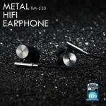 หูฟัง REMAX Small Talk RM - 530 สีเทา