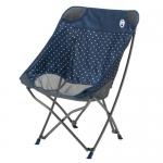 เก้าอี้พับ Coleman Healing Chair #Navy Dot