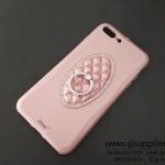 เคส iPhone 7 Plus แหวนเพชร ตั้งได้ สีโรสโกลด์ BKK