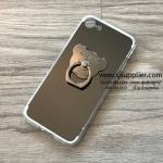 เคส Oppo A59/F1s กระจกเงา หมีมีแหวน สีดำ BKK