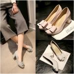 Preorder รองเท้าแฟชั่น สไตล์เกาหลี 34-43 รหัส 9DA-9718
