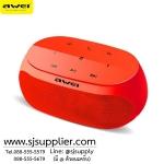 ลำโพงบลูทูธ AWEI Y200 ระบบสัมผัส สีแดง BKK