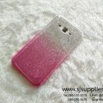 เคส Samsung J7 กากเพชรไล่สี สีชมพู