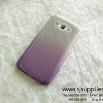 เคส Samsung J7 กากเพชรไล่สี สีม่วง