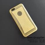 เคส iPhone6/6s New Slim TPU กากเพชร สีเหลือง